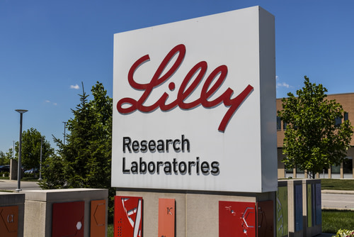 Eli Lilly Logo on Sign