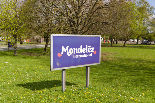 Mondelez International Sign