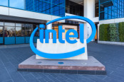 Intel Logo at Headquarters