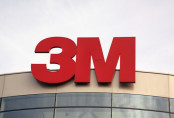 3M Red Logo on Building