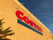Costco sign in front of store