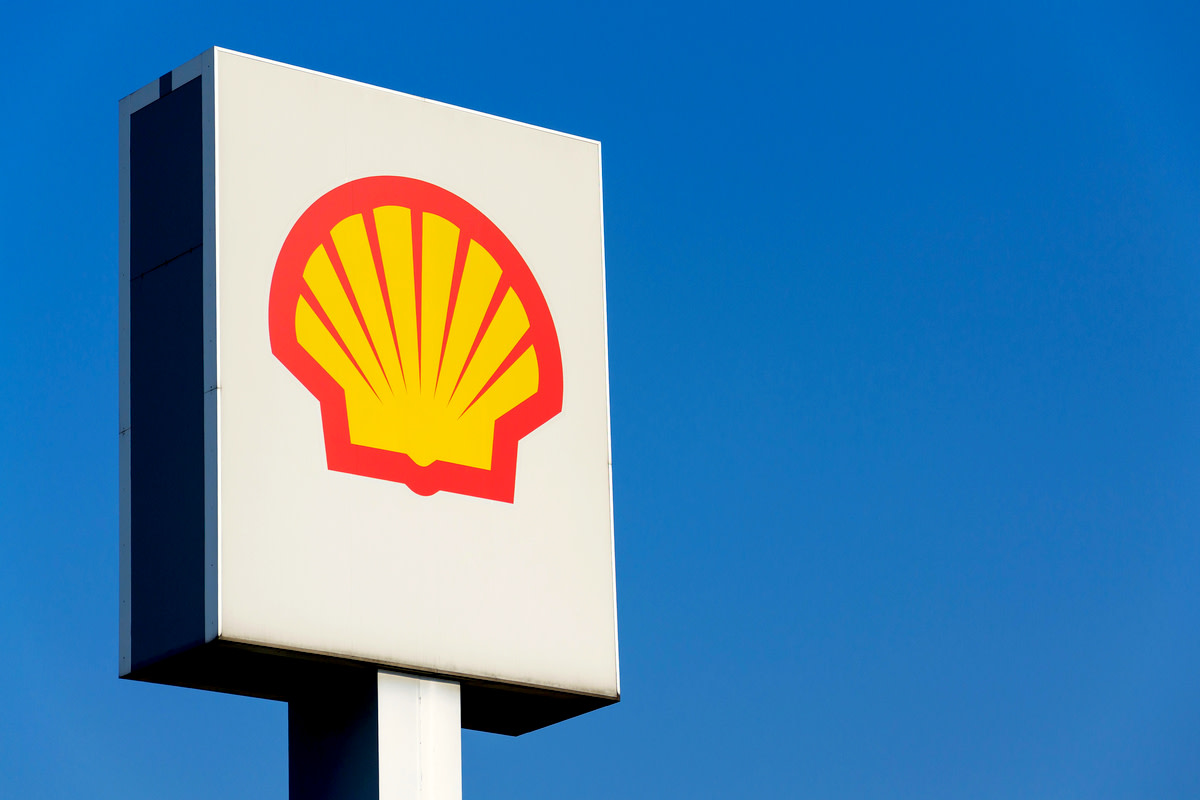 Royal Dutch Shell international oil and gas company logo