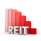 REIT going down image