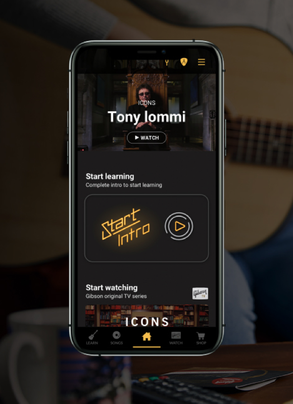 image Gibson App - Learn, Watch, Shop
