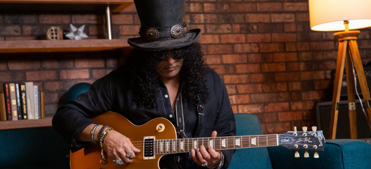 "image Slash ""Victoria"" Les Paul Standard Goldtop"