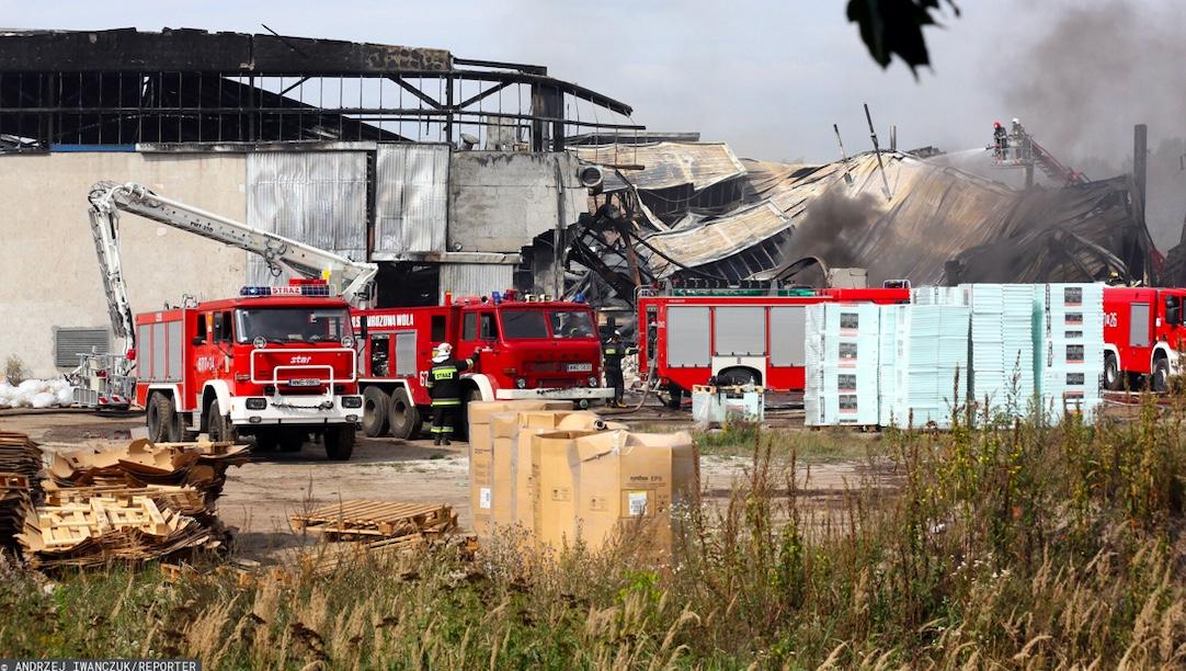 W Poznaniu doszło do groźnego pożaru