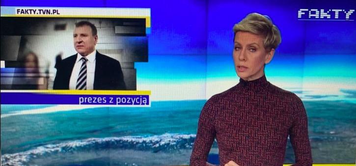 """W """"Faktach"""" TVN wyemitowano materiał na temat Jacka Kurskiego"""