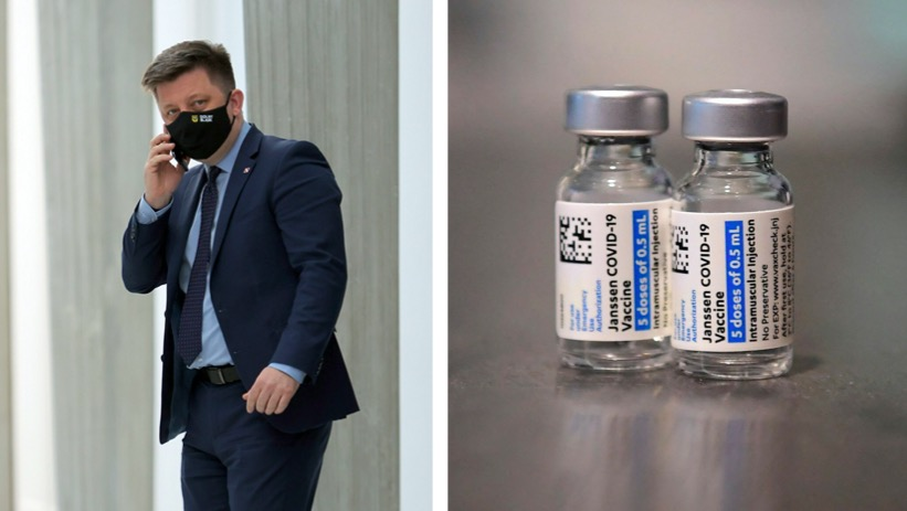 Firma Jenssen produkująca szczepionkę Johnson&Johnson odpowiedziała na zarzuty Michała Dworczyka