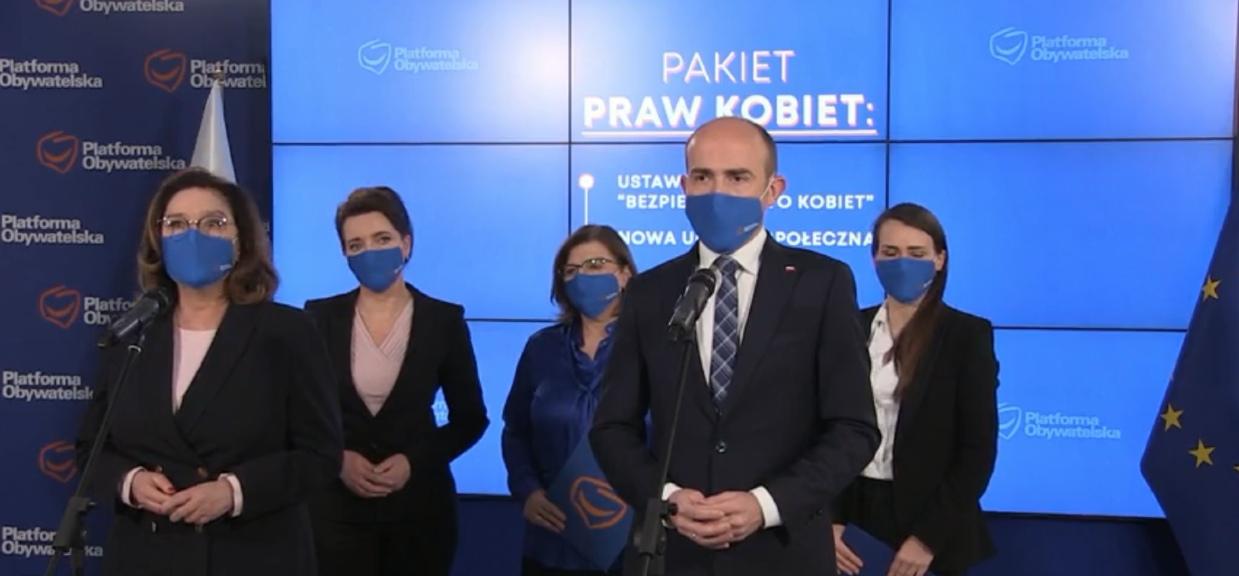 Platforma Obywatelska przedstawiła nowe stanowisko w sprawie aborcji.