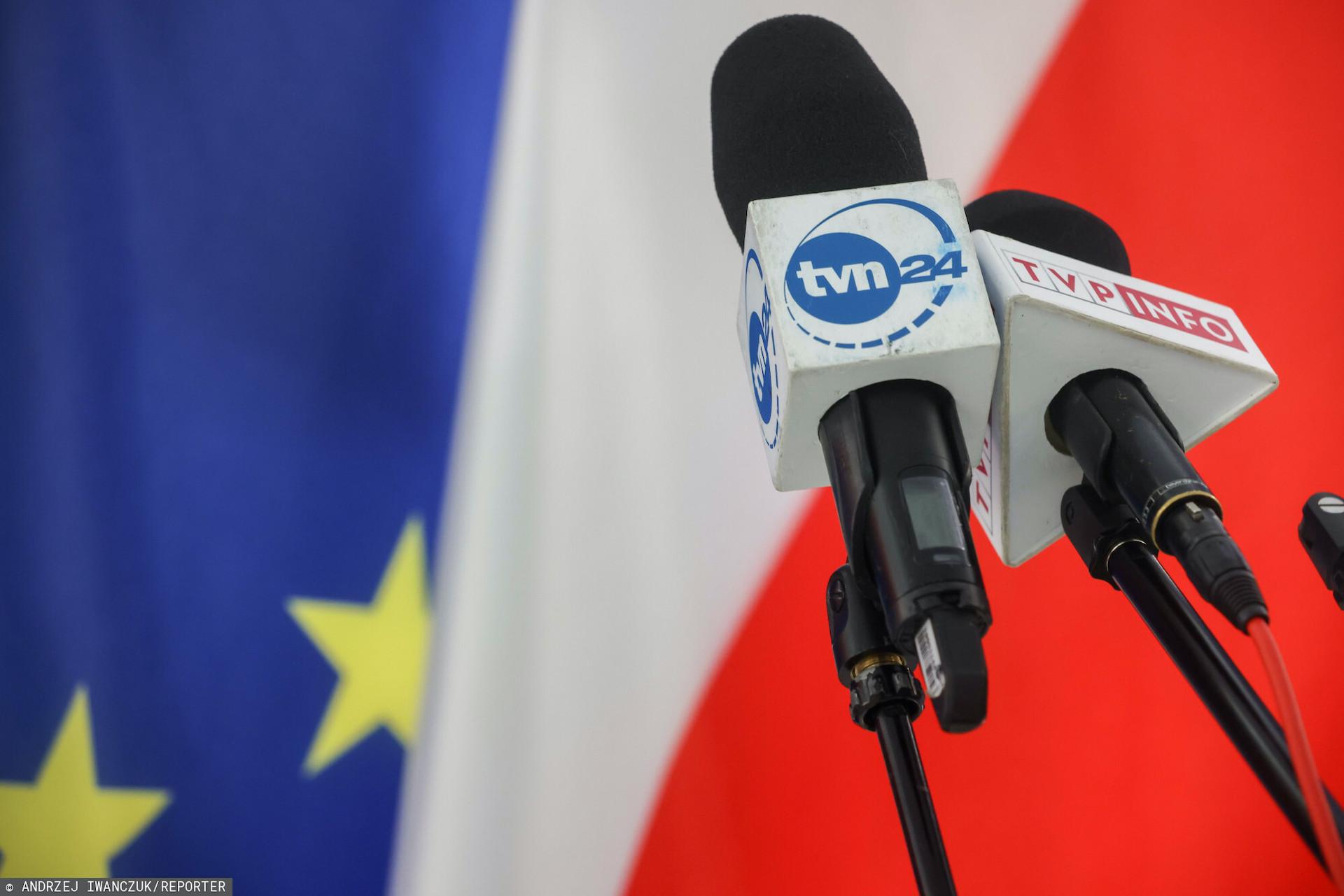 Na stronie TVP Info odświeżony został artykułz 2020 roku uderzający w TVN