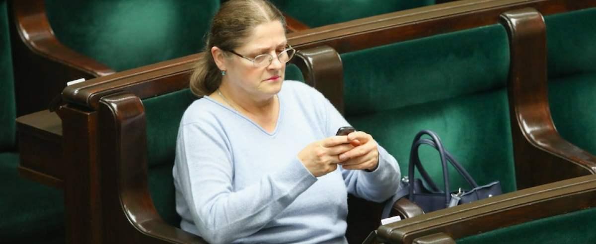 Na Twitterze Krystyny Pawłowicz pojawiły się przytyki do widzów TVN