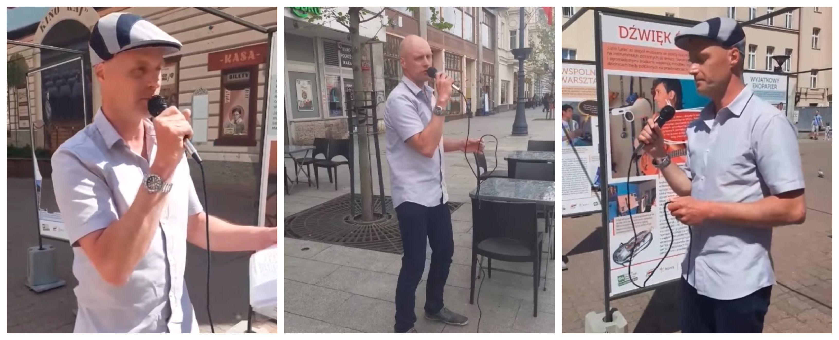 Krzysztof Krawczyk Junior śpiewał w Łodzi