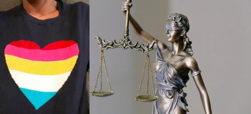 Sąd wydał wyrok w sprawie pobicia kobiety przez ochroniarza w Częstochowie ze względu na tęczowe serce na jej swetrze