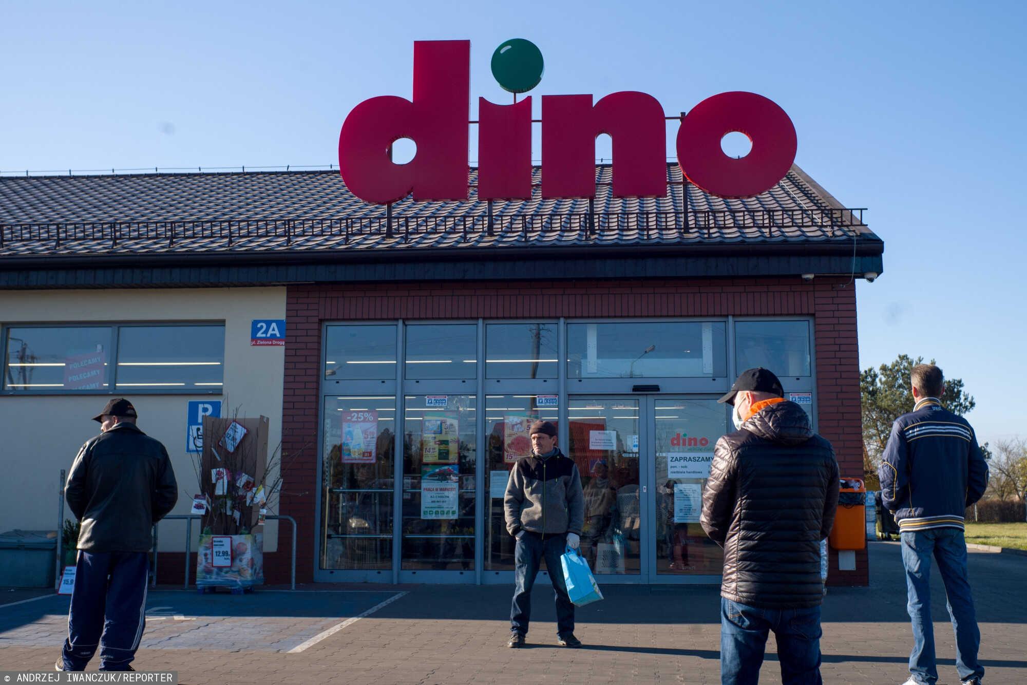 Dino może obejść zakaz handlu w niedzielę, rejestrując działalność pocztową i kurierską.