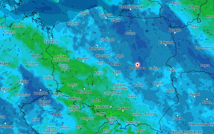 Ponownie prognoza pogody przynosi ze sobą widmo burz i ulew
