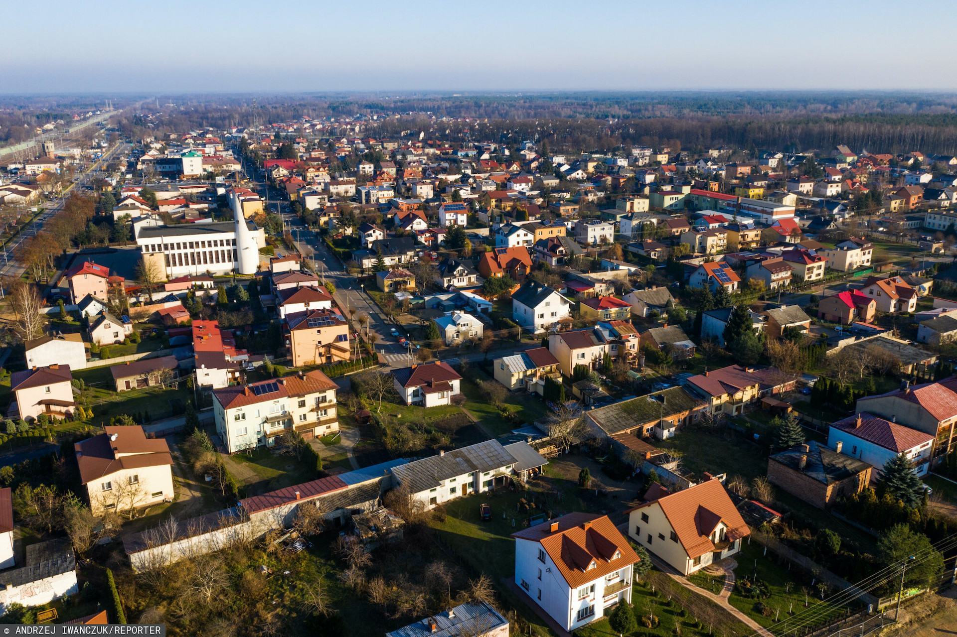 W Bochni kilkadziesiąt ulic objętych było awarią prądu