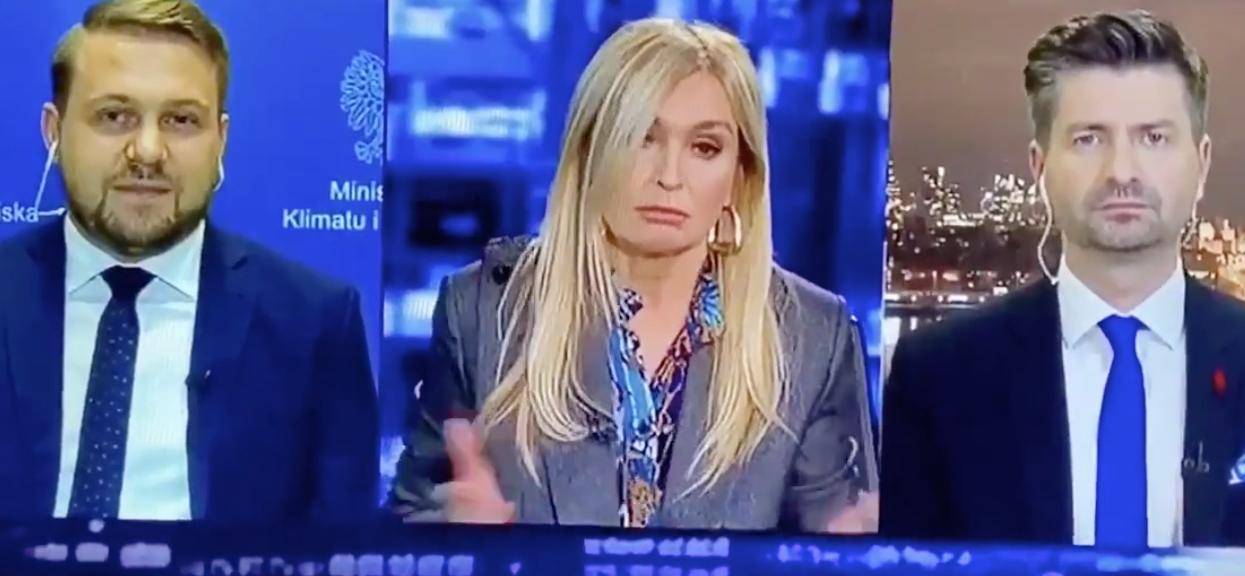 W programie Moniki Olejnik dyskusja przybrała niespodziewany obrót.