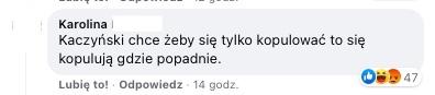 Internauci dostrzegli nawet skutek działań Jarosława Kaczyńskiego w nagraniu publicznego seksu z Mielna