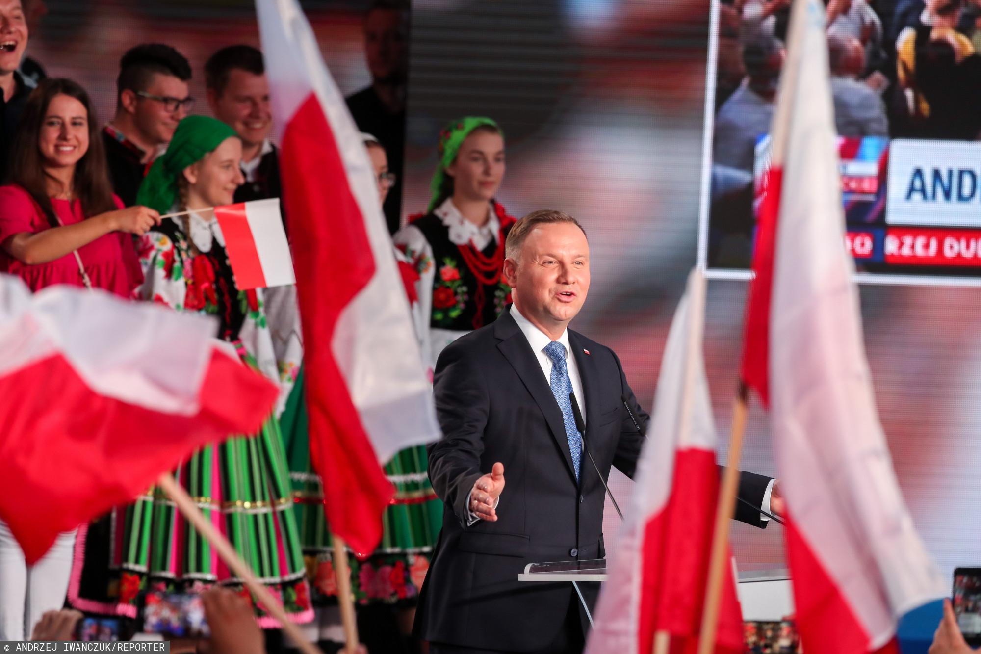 TVN musi zmierzyć się z ostrą krytyką ze strony Andrzeja Dudy.