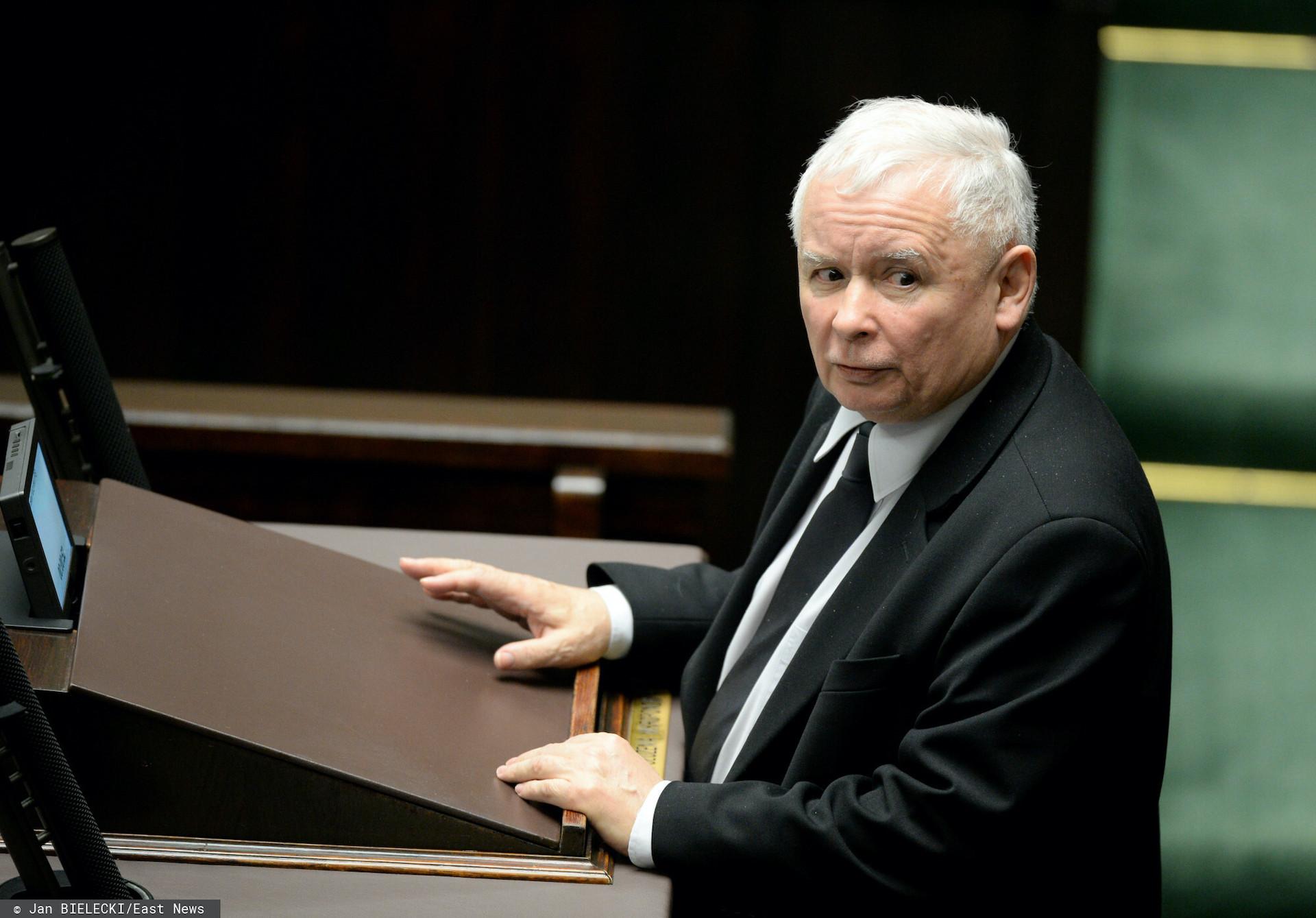 Prezes PiS Jarosław Kaczyński ukarany przez Komisję Etyki Poselskiej