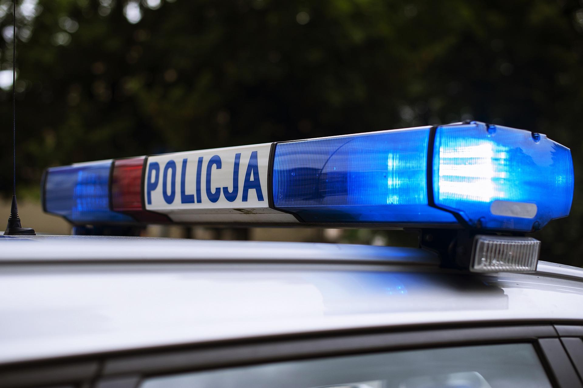 Policjantka przyłapana