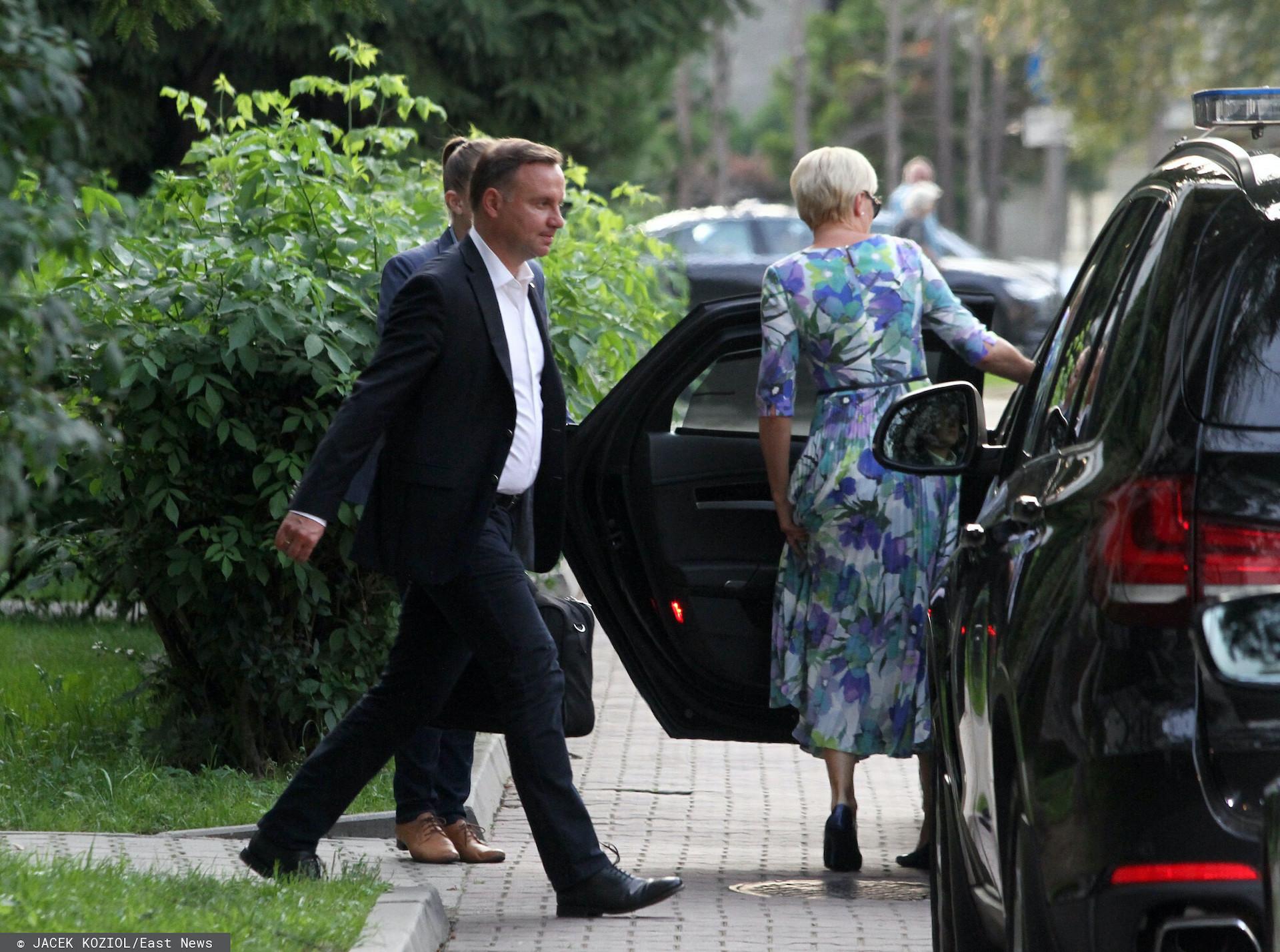 Prezydent Andrzej Duda rozpoczął urlop w Juracie nad Morzem Bałtyckim