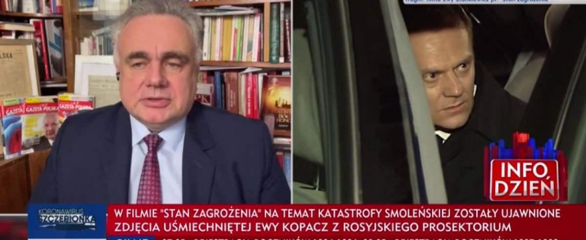 Na antenie TVP Info przekonywano, że powodem katastrofy smoleńskiej musiał być zamach.
