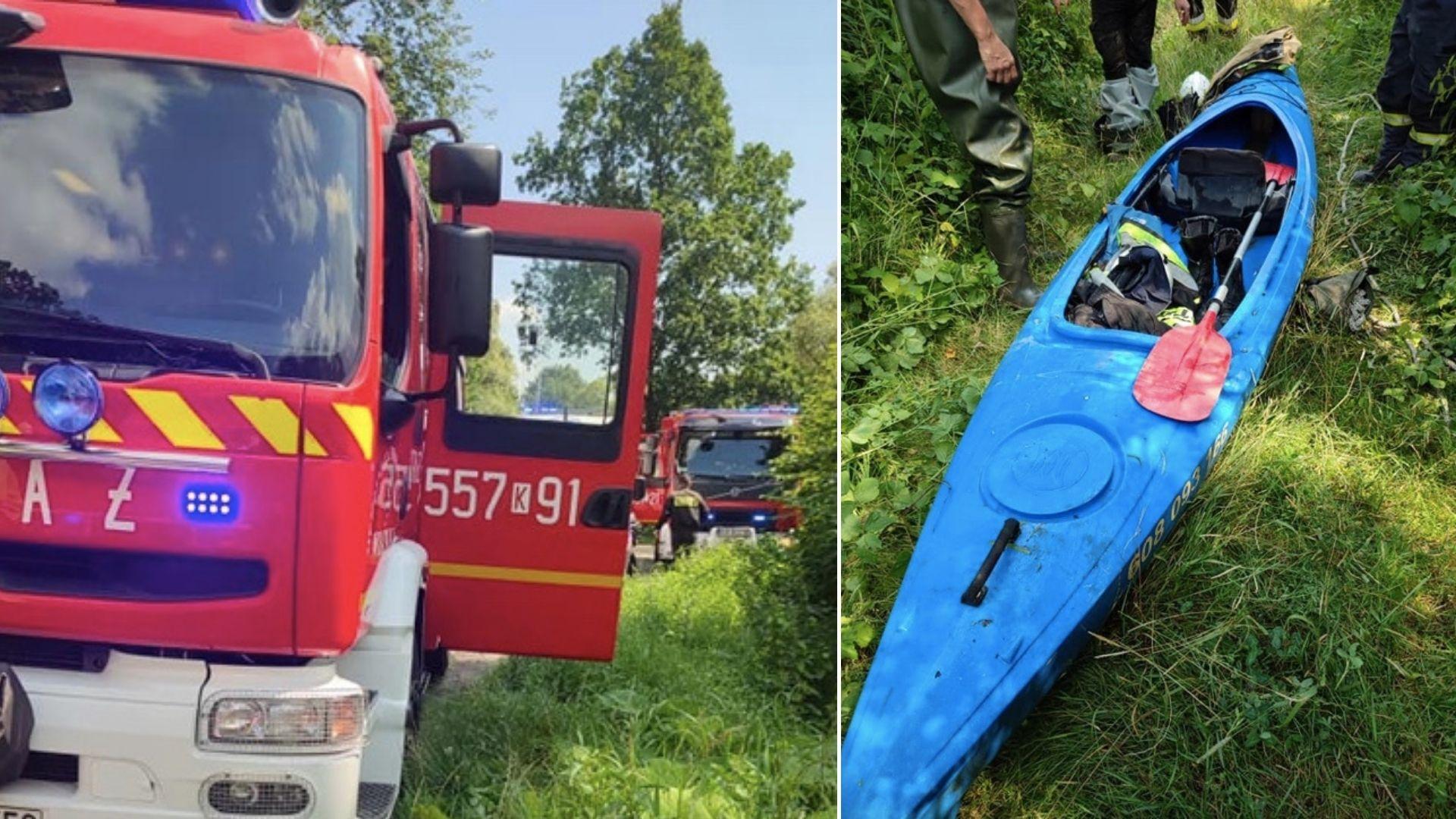 Wyłowiono ciało uczestnika spływu kajakowego nad Sakwą