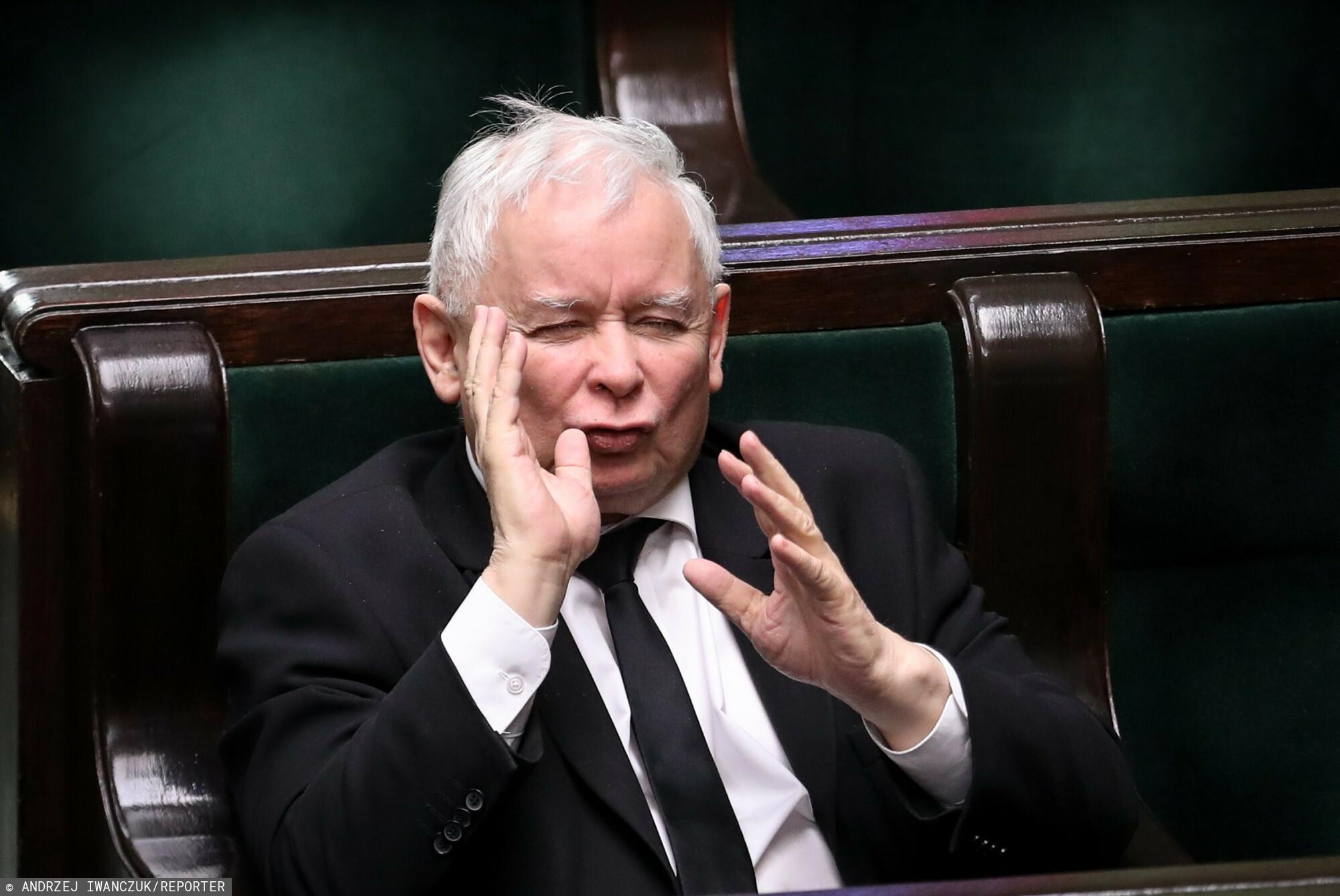 Jarosław Kaczyński obiecuje Słowenię