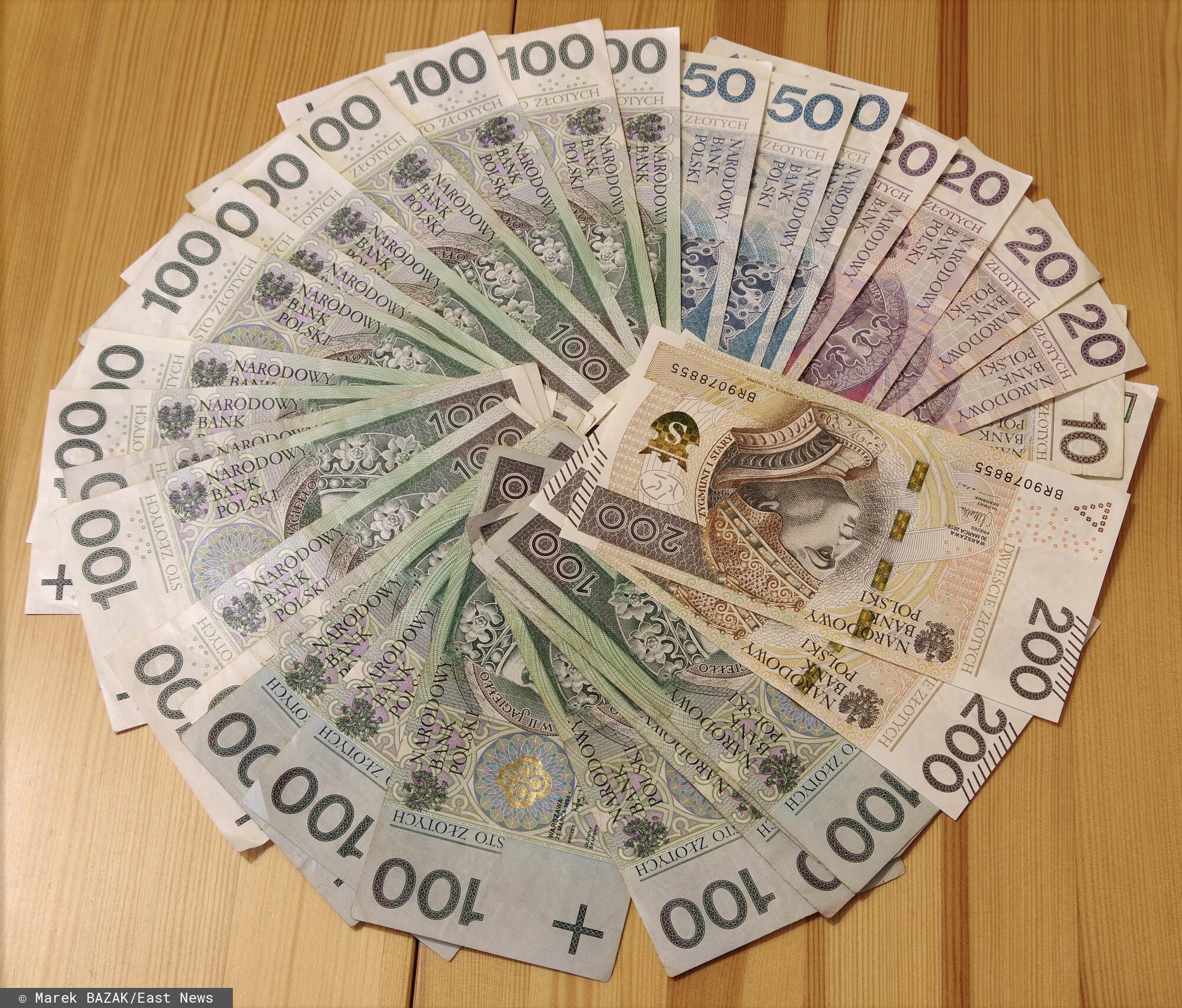pieniądze - gdańsk
