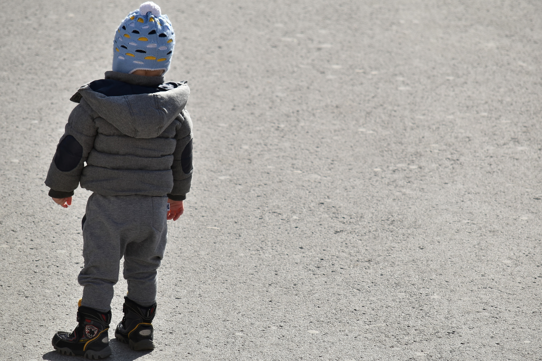 Dziecko samotnie błąkało się po Olsztynie