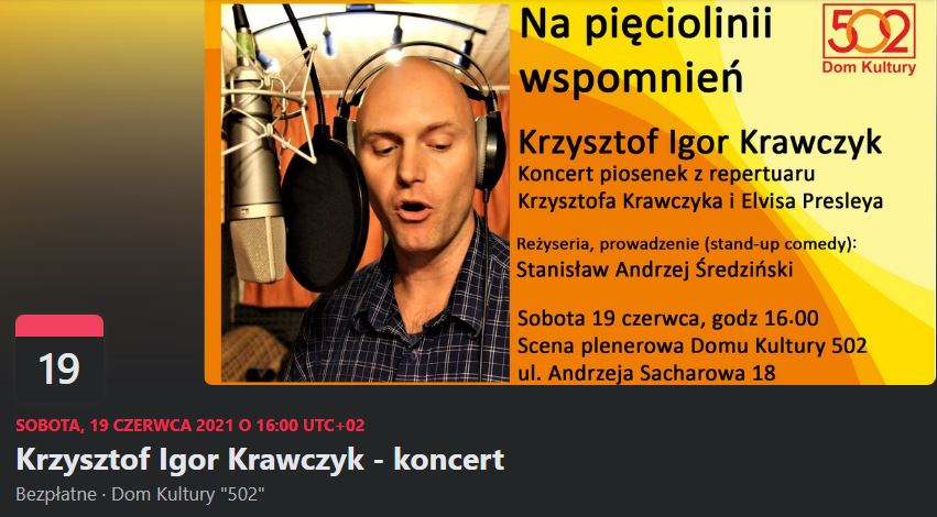 Syn Krzysztofa Krawczyka