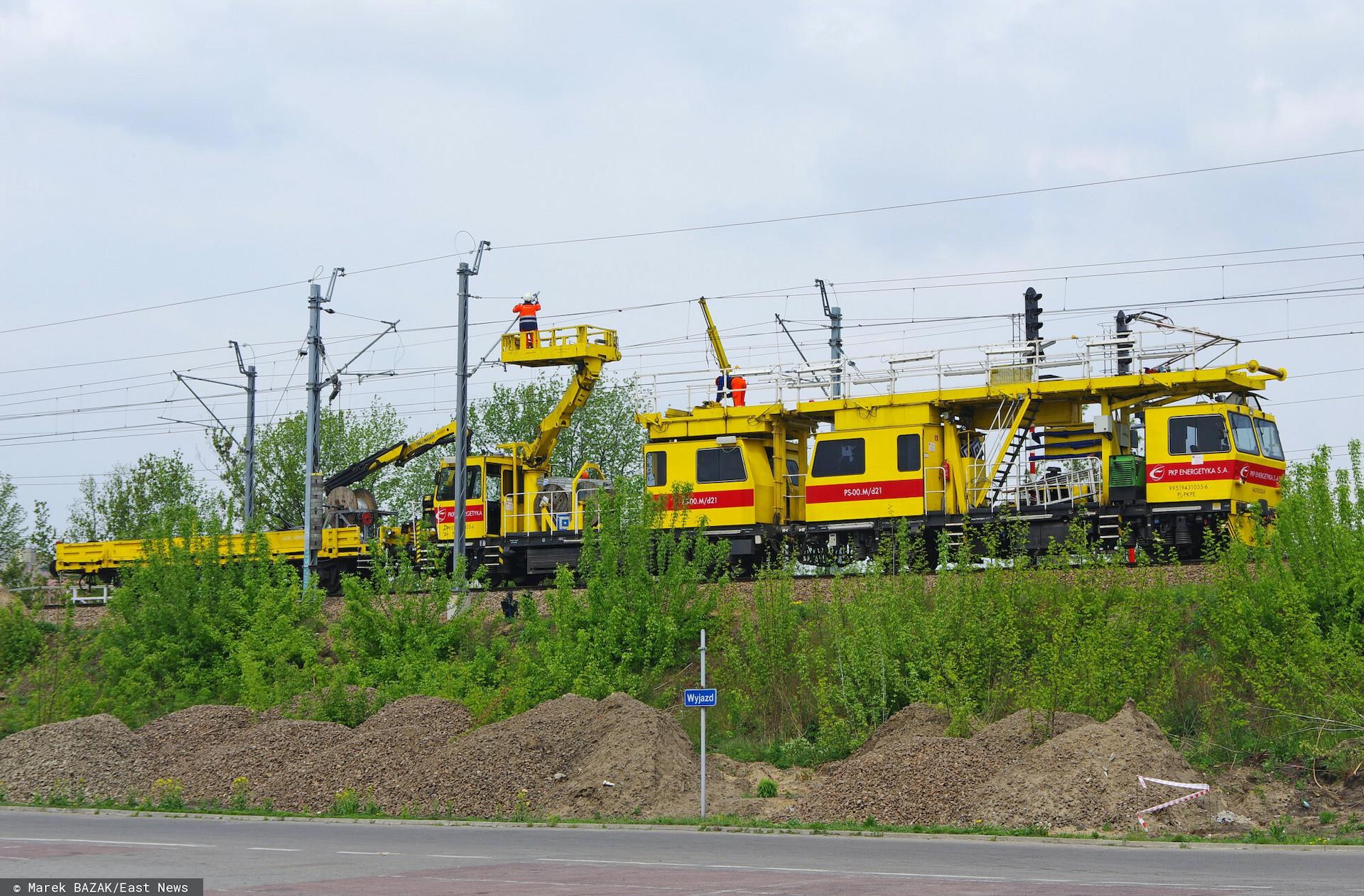 Koło Rybnika doszło do wykolejenia się pociągu PKP IC