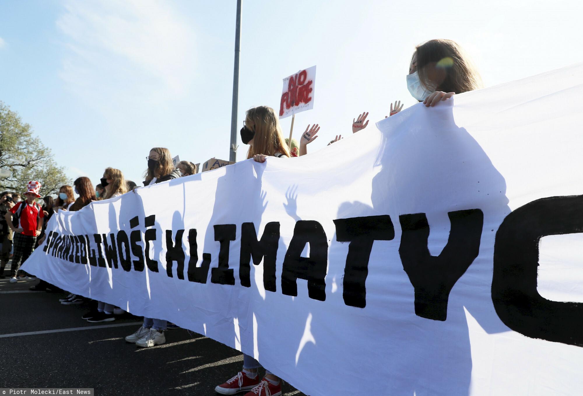 Manifestacja ekologów