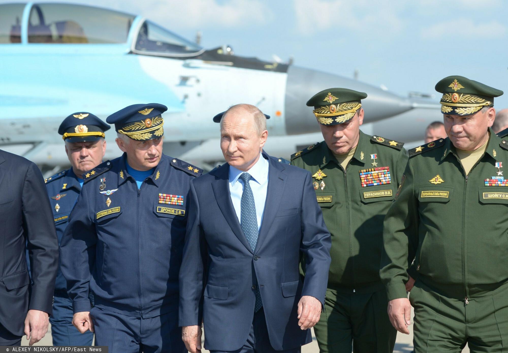 rosja - armia - władimir putin