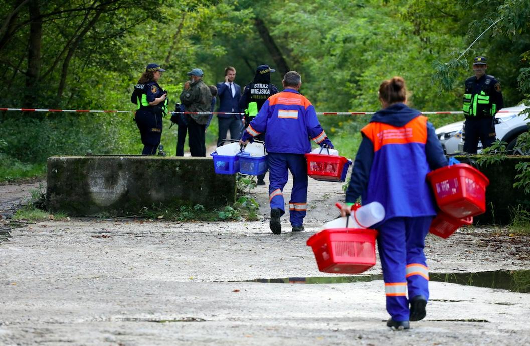 W oczyszczalni ścieków w Ząbkowicach Śląskich znaleziono martwy płód