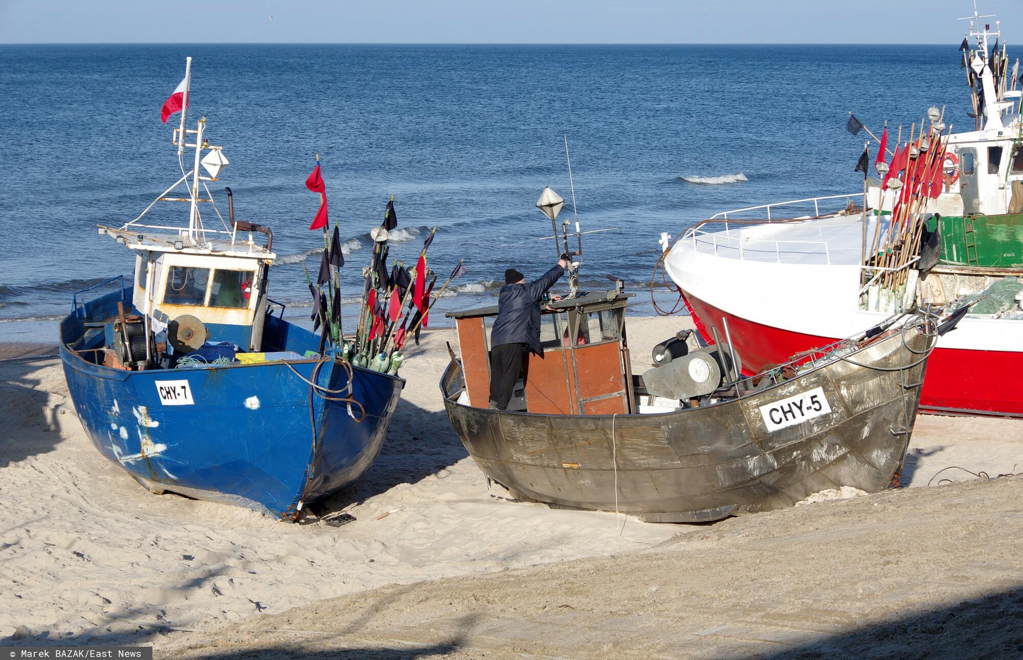 Protest rybaków