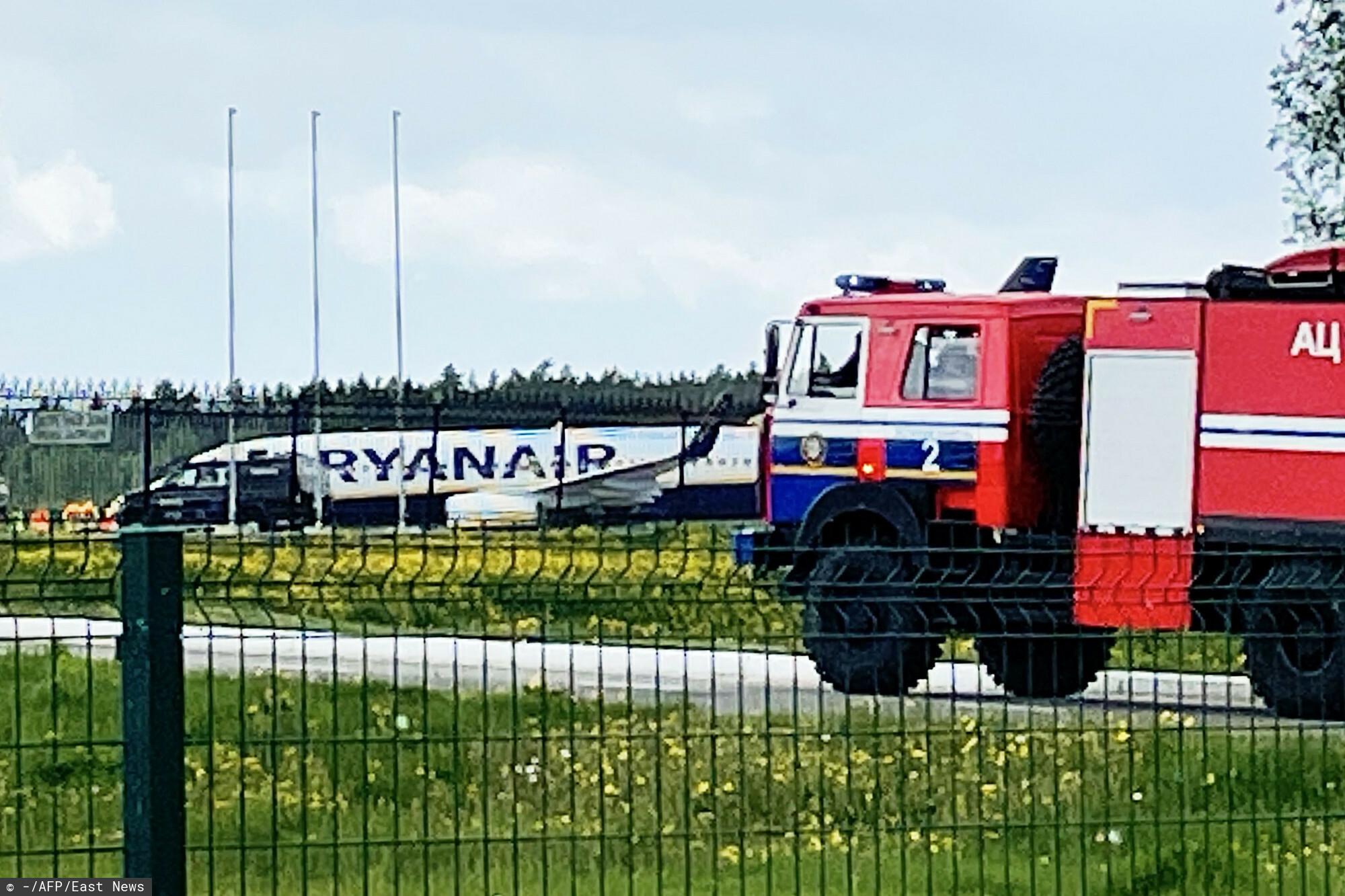 Nowe informacji na temat lądowania w Mińsku samolotu Ryanair z Ramanem Pratasiewiczem na pokładzie