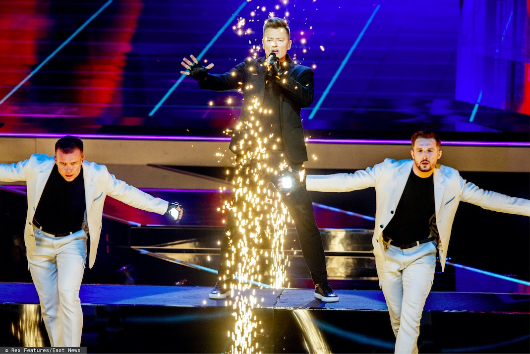 Pewne jest, że Rafał Brzozowski nie będzie mógł chwalić się zajętym na Eurowizji miejscem