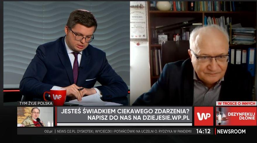 Prof. Simon skomentował doniesienia o łamaniu obostrzeń na uczelni Tadeusza Rydzyka.