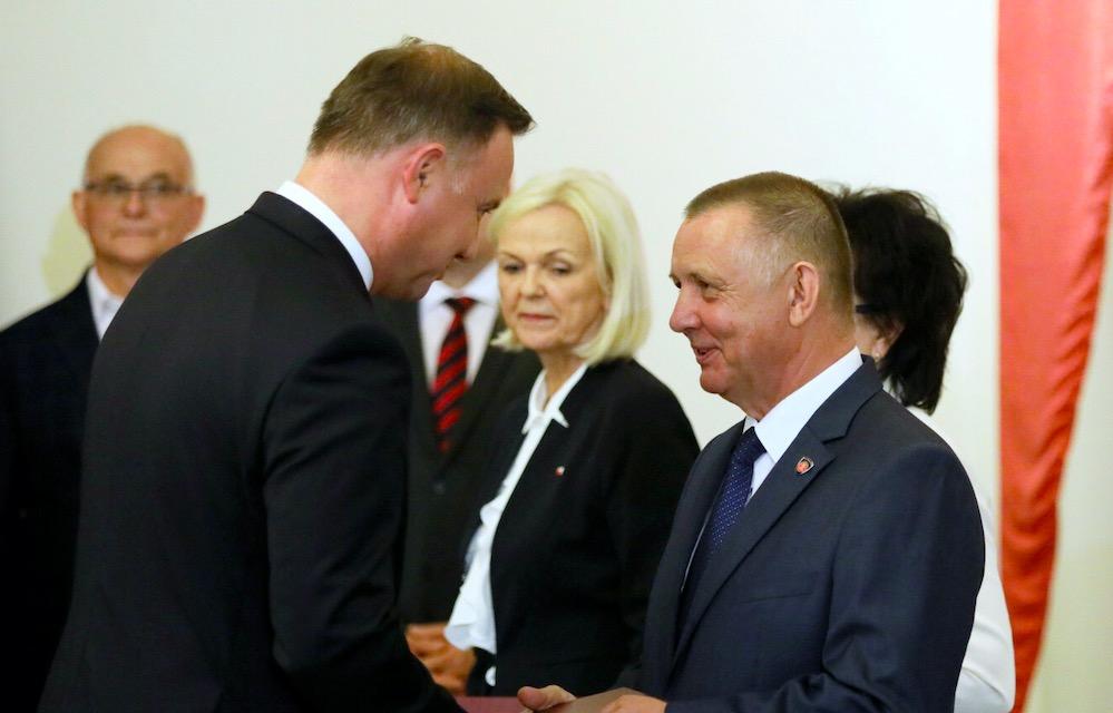 Marian Banaś miał potajemnie spotkać się z Andrzejem Dudą