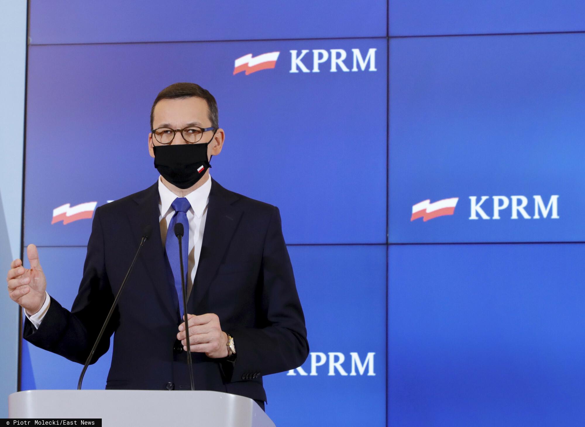Obostrzenia dla najbardziej poszkodowanych branż mogą zostać poluzowane, zapowiedział Mateusz Morawiecki.