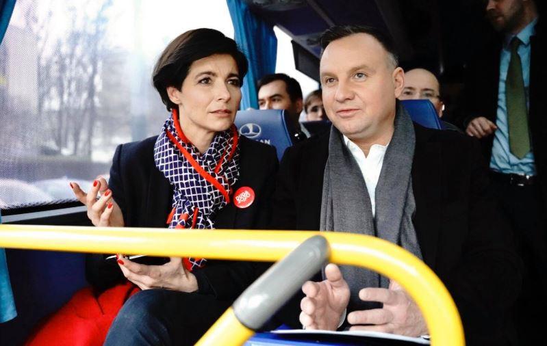 Jolanta Turczynowicz-Kieryłło i Andrzej Duda