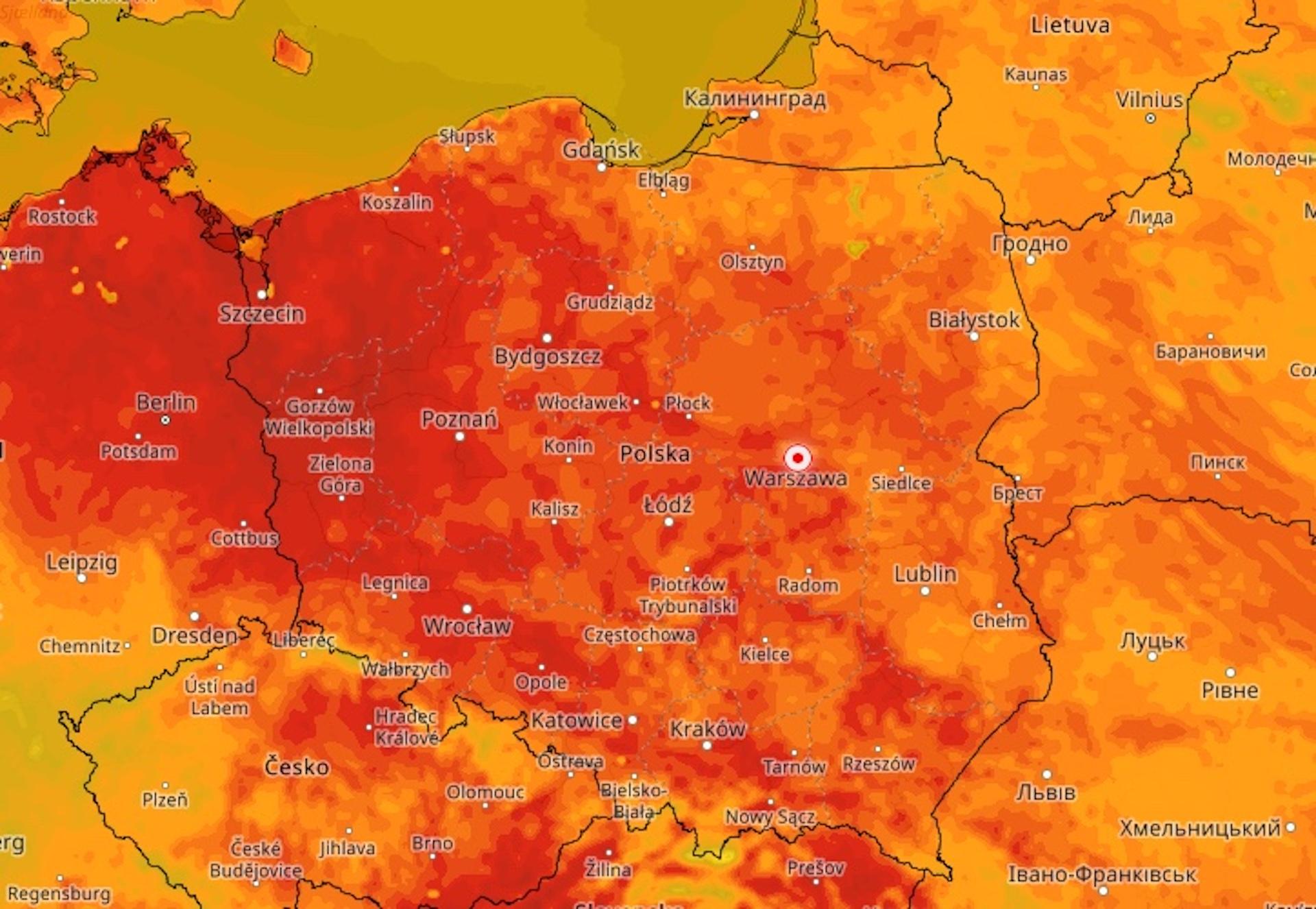 Do Polski ponownie zawitają upały