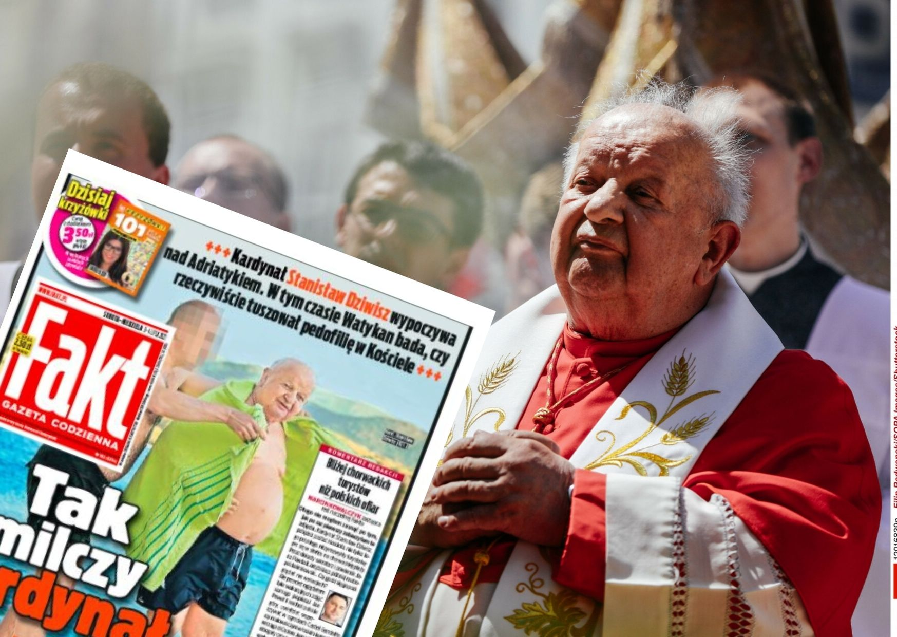 kardynał dziwisz - chorwacja