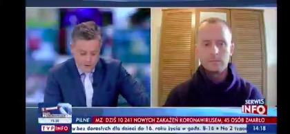 Michał Cholewiński odsunięty z TVP za krytykę Trybunału Konstytucyjnego?
