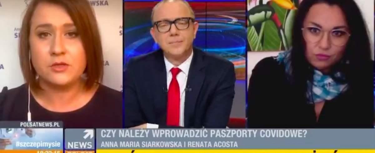 Na antenie Polsat News miała miejsce niecodzienna wymiana zdań