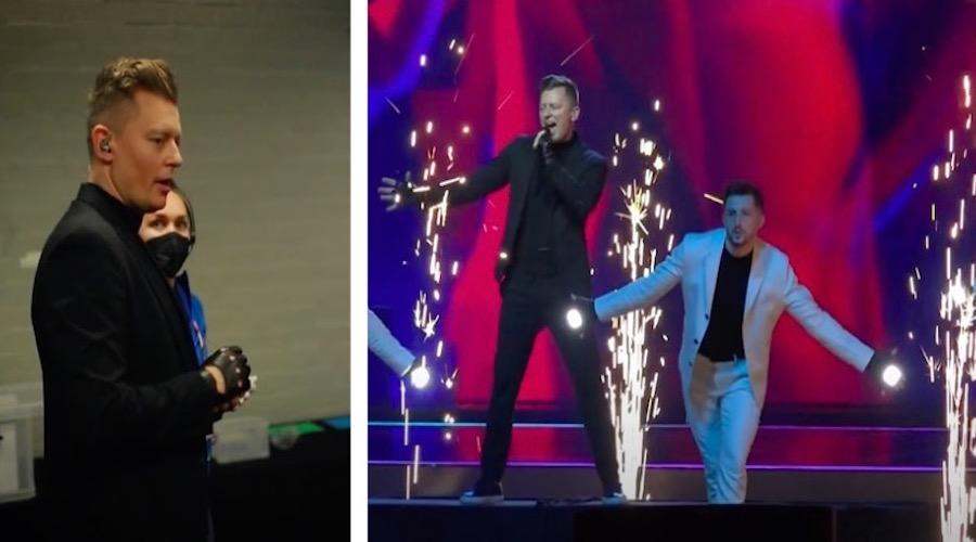 W sieci pojawiło się nagranie z pierwszej próby Rafała Brzozowskiego na Eurowizji