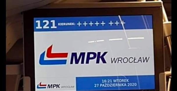 Wrocławskie MPK bohaterem artykułu TVP Info