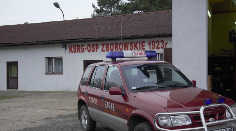 Druhowie z OSP Zborowskie przekazali, że nie dostali zgody na wyjazd